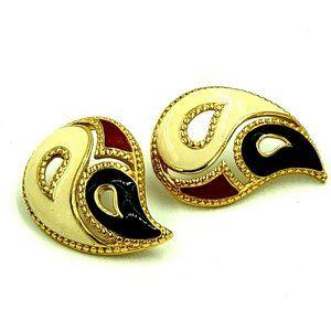 Avon Kaleidoscope Pierced Earrings